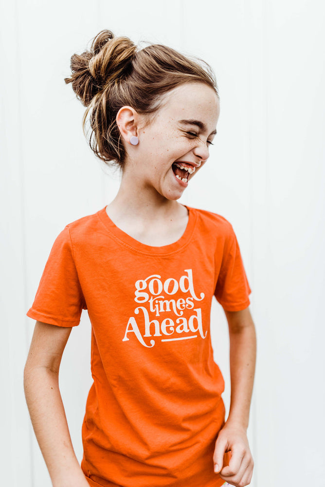 good times ahead kids tee | fiesta