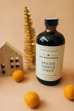sir winston's spiced | simple syrup