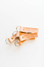 Leather Key Fob | Love Where You Are