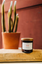 desert bloom | glass candle