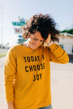 markdown | the today i choose joy side slit golden spice