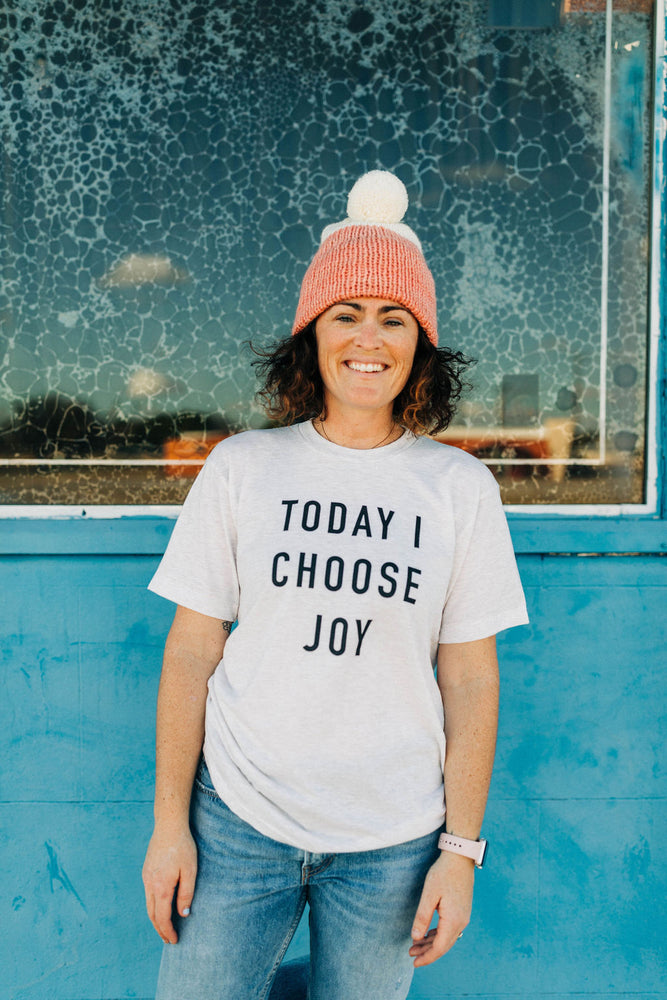 the today i choose joy tee | unisex