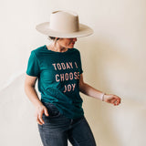 today i choose joy tee in june bug