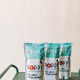poppy mix | popcorn market bag