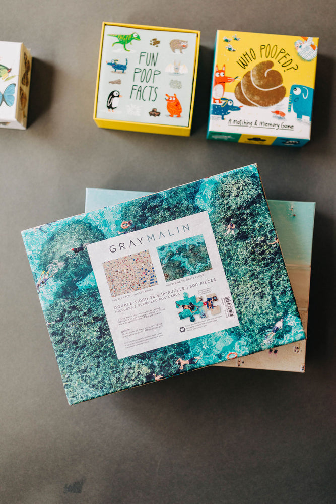 gray malin hawaii | two-sided puzzle