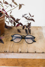 retro blue light glasses | 3 colors