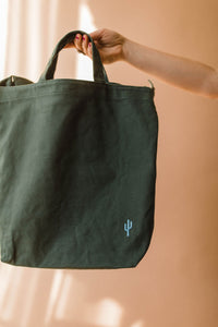 the cactus duck bag | eucalyptus