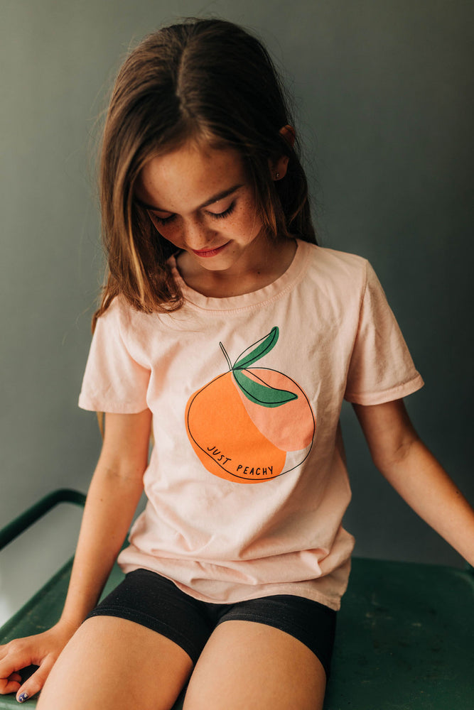 Just Peachy Kids Tee | USA Made Collection