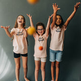 Girl Squad Kids Tee | USA Made Collection-Ramble and Company-kids graphic tees-usa made-positive bold kids tees