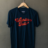 the falls groovy tee | navy