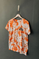 the do good everyday tie dye tee by Ramble & Company || USA Made || shop now at rambleandcompany.com or visit our storefront in downtown Wichita Falls, Texas || soft inspirational graphic t-shirts || wholesale available