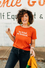 markdown | the be kind tee gold flame