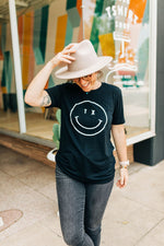 the tx smiley tee | black