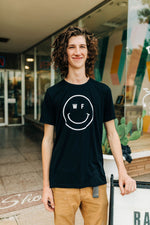 the wf smiley tee | black