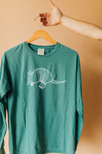 the armadillo long sleeve | cypress