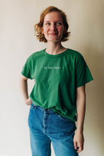 Load image into Gallery viewer, the be you today tee | grass green