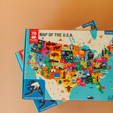 map of the u.s.a. | puzzle