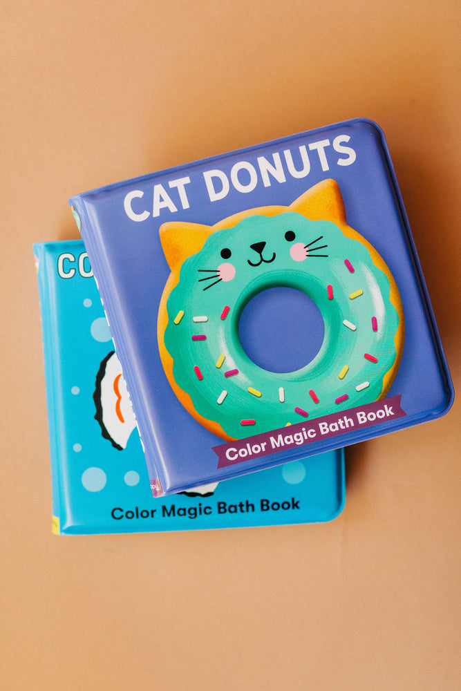 cat donuts | magic bath book
