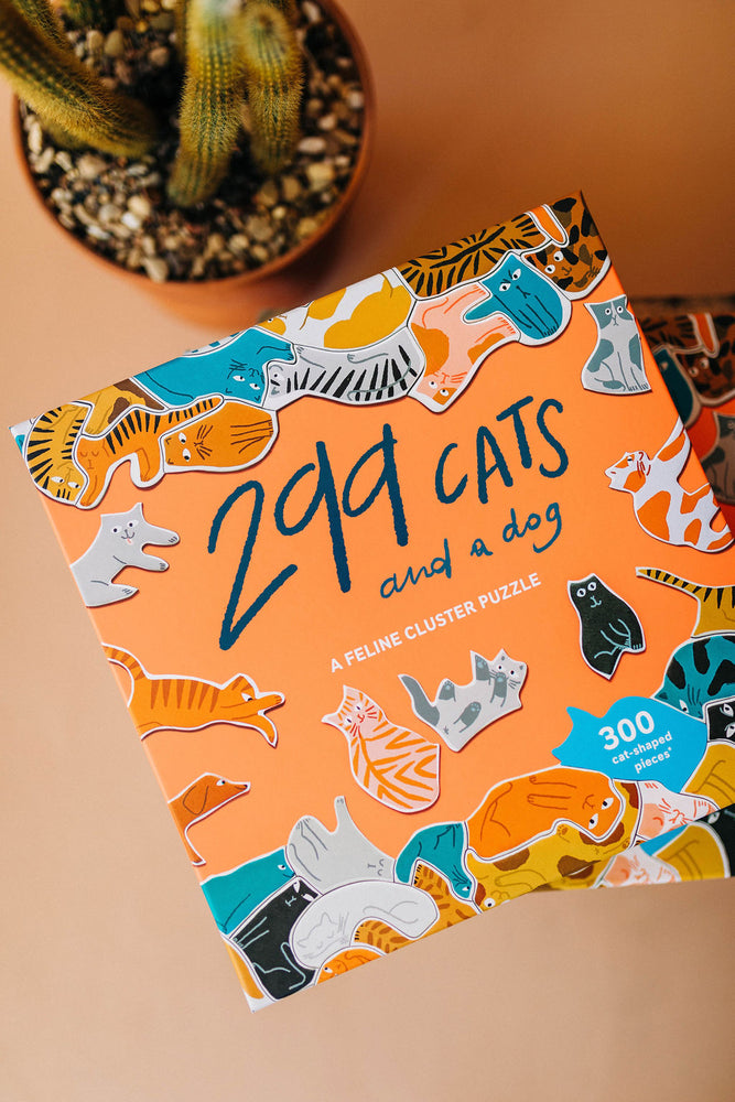 299 cats (and a dog) | puzzle