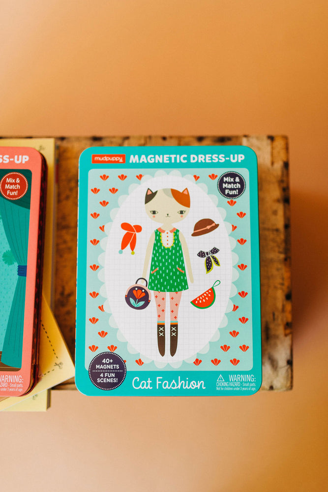 cat fashion | magnetic dress-up