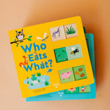 who eats what | slide + learn