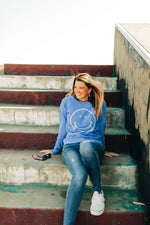 the smile raglan | wedgewood