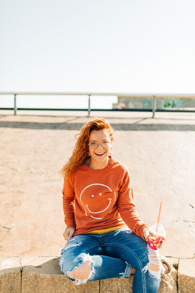 the smile raglan | autumnal