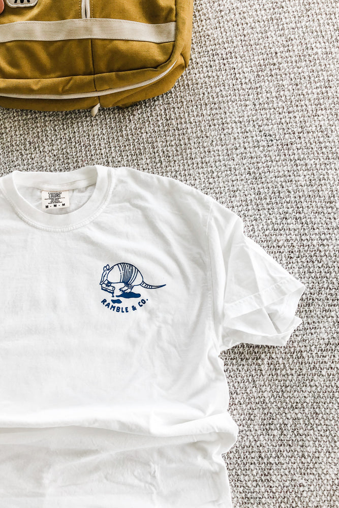 Small Batch Tee in White