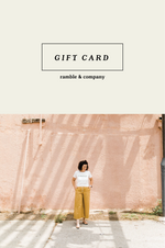 Ramble Gift Card - ramble-and-company.myshopify.com - Gift Card