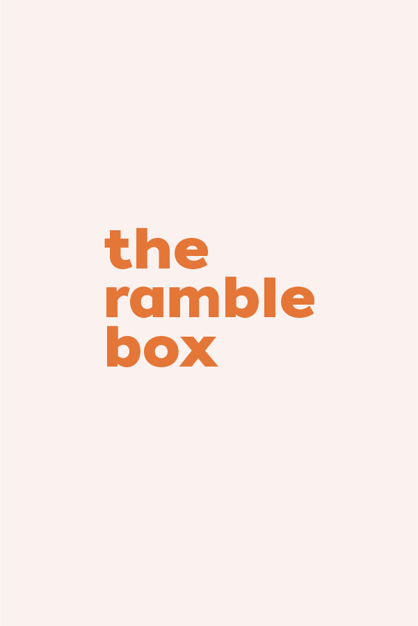 The Ramble Box