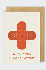 speedy recovery | notecard