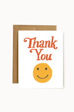 thank you smiley | notecard