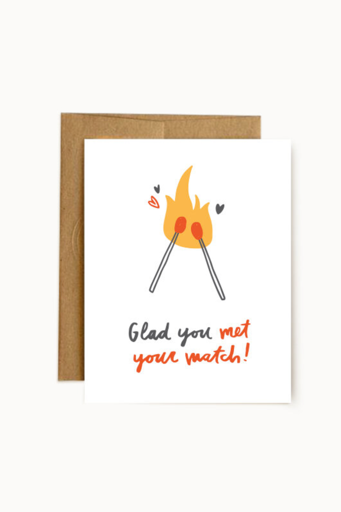 met your match | notecard