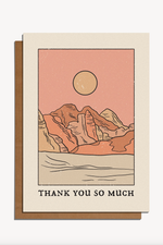 thank you so much | notecard