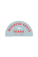 wichita falls blue | sticker