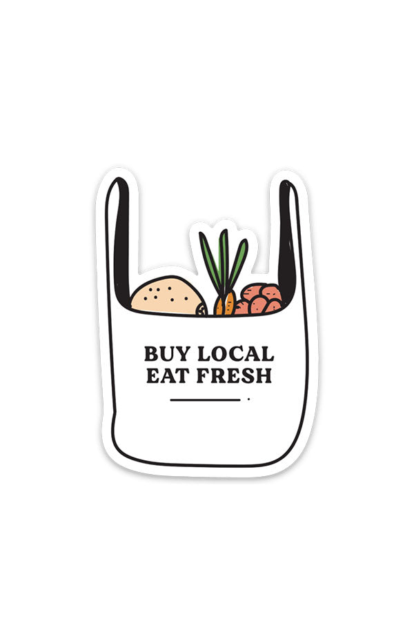 buy local | sticker