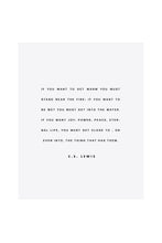 Load image into Gallery viewer, c.s. lewis | print