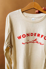 wonderful winter long sleeve | kids