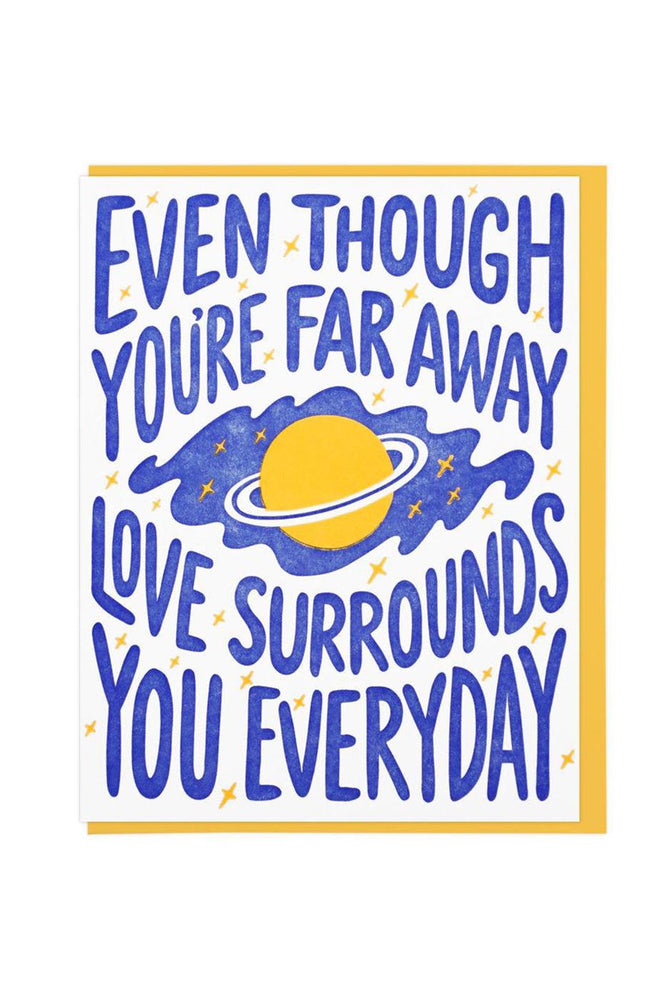 love surrounds you | notecard