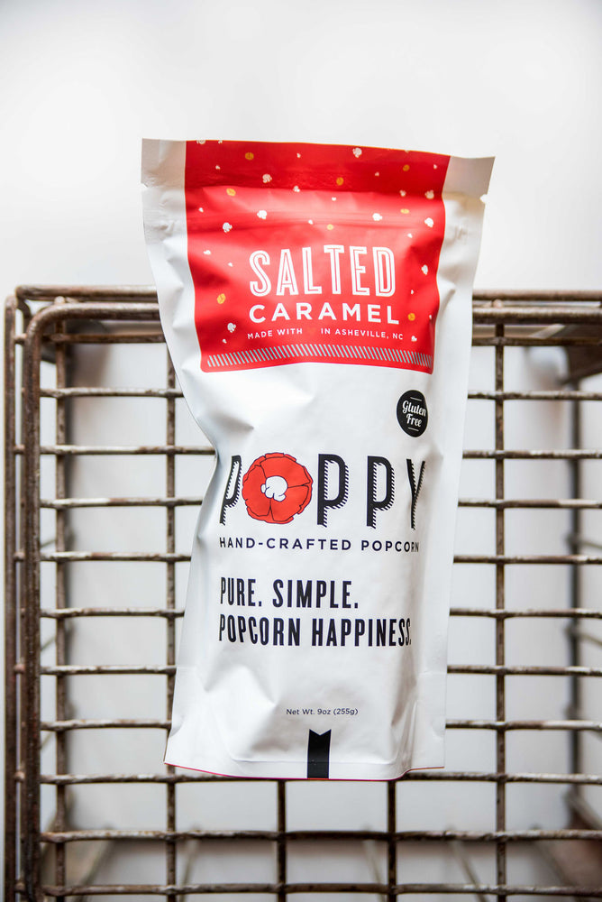 Poppy Hand-crafted popcorn | variety of flavors