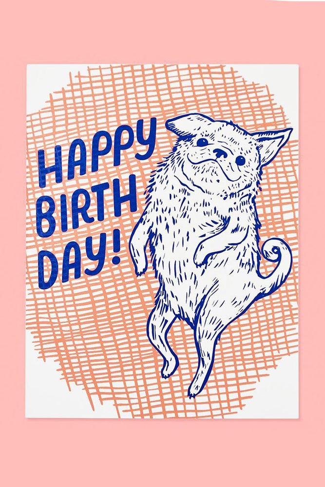 dog birthday | notecard