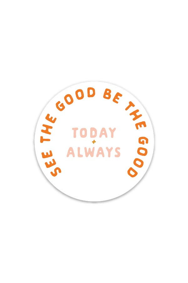 today + always | sticker