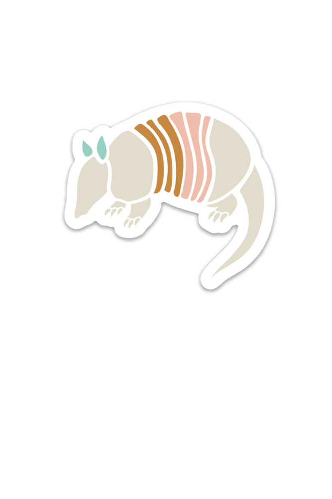 armadillo multi | sticker