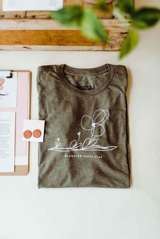 The Ramble Box // quarterly subscription box from Ramble & Company // exclusive graphic tee and other themed items