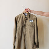 armadillo khaki work shirt | vintage no. 39