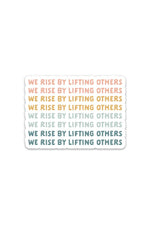 we rise | sticker