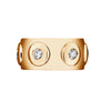La Bouton Six ring 18k rose goud