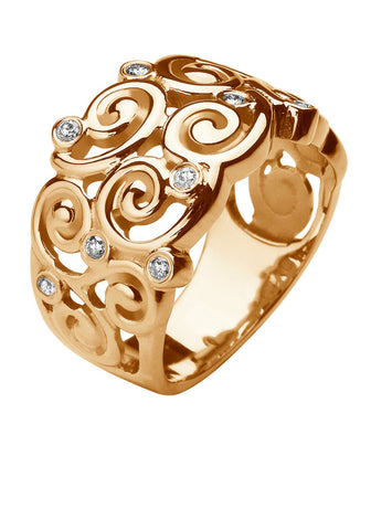 Boucles ring 18k geel goud