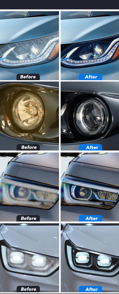 Mighty Headlight Cleaner 9H Headlight Cleaning Polish Cleaner Car Lens Light