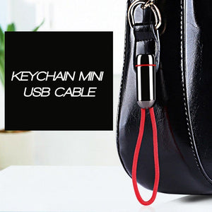Keychain Mini USB Cable